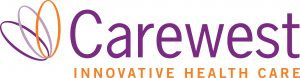 Carewest logo colour
