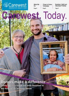 Carewest. Today. Cover