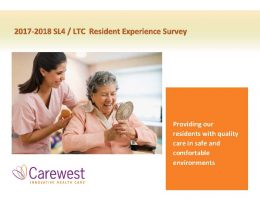 Resident Experience Survey 2017-18 Report
