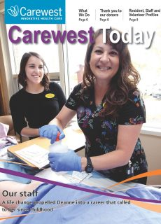 Carewest Today 2020 cover