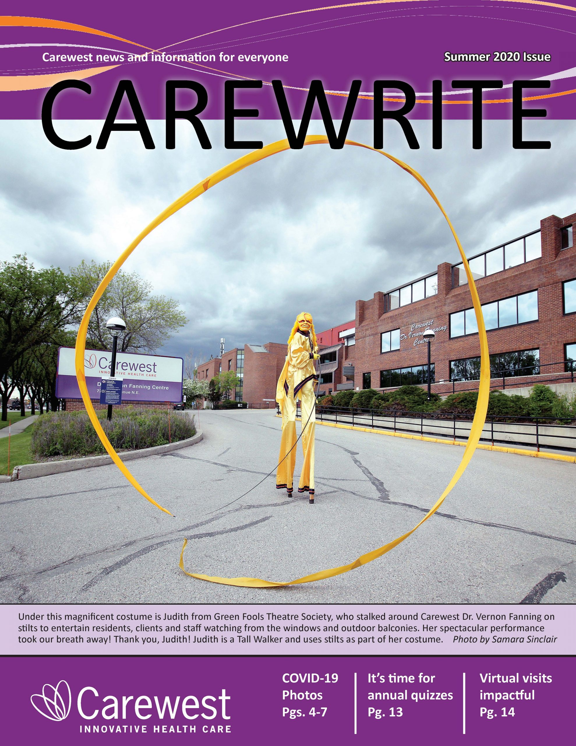 Carewrite Summer 2020 Cover