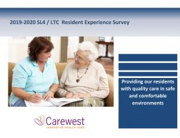 Resident Experience Survey 2019-2020